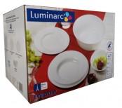 Luminarc zestaw talerzy 12 osób Every Day 41 elmentów