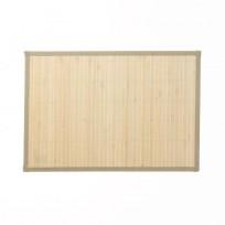 Kela podkładka na stół bambusowa, beżowa, 45x30cm