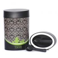 O`lala pojemnik owalny, 0,6 l, czarno-zielony, Teatime