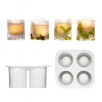 Sagaform silikonowa forma na 4 lodowe szklaneczki