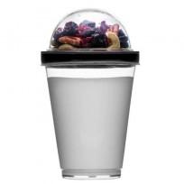 Sagaform kubek do jogurtu z pojemnikiem na musli c