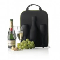 XDDESIGN Kontener na szampana 2 kieliszki FLUTE