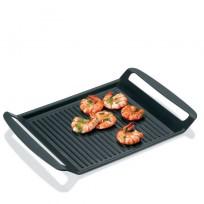 Kela patelnia grillowa prostokątna, grill kuchenny