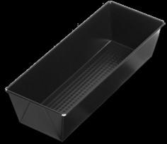 SNB czarna blacha non-stick 39 x 11 x 7,5 cm