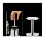 Cilio ubijak do kawy espresso, śred. 5,0/5,5 cm, wys. 6,5 cm