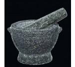 Cilio ciemny granitowy moździerz 18,5 cm
