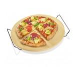 Kuchenprofi okrągły kamień do pizzy z podstawką 30