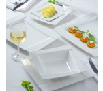 Ambition komplet talerzy obiadowych 42 el Kubiko