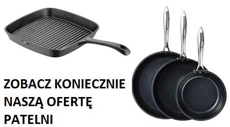 najlepsza oferta na patelnie i woki